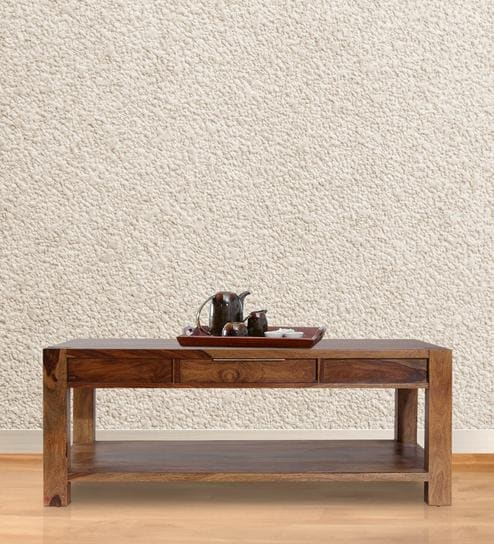 New Kaira Coffee Table In Walnut Finish By Peachtree