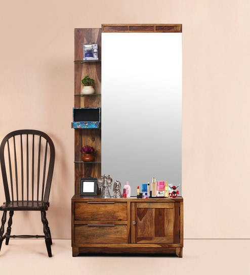 Buy New Kaira Tall Dresser With Mirror In Honey Finish By Peachtree
