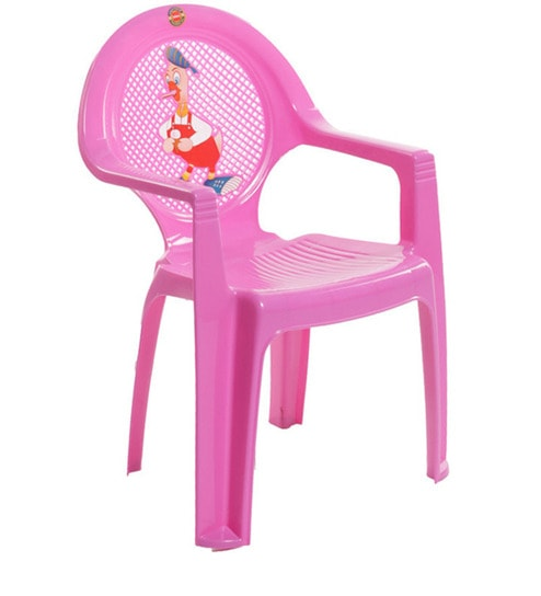 New Tulip Set Of Two Kids Chair In Pink Colour By Cello By Cello - Kids tulip table