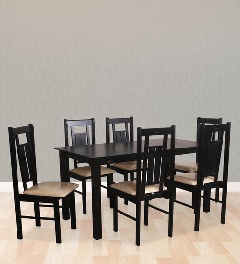 Yoshimi Six Seater Dining Set by Dina