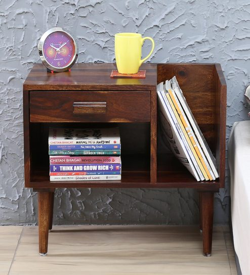 book coffee table furniture. Nexo Solid Wood Bed Side Table With Book Shelf On Left In Provincial Teak Finish By Woodsworth Coffee Furniture L