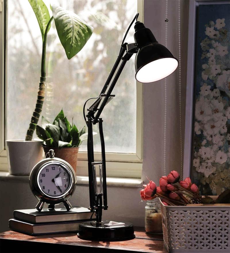 Black Iron Desk Lamp by New Era