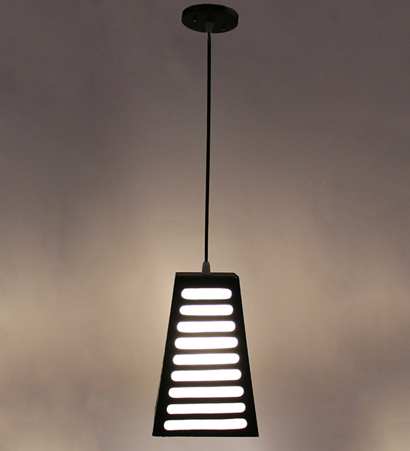 Conical Brown Mdf & Stiffner Pendant by New Era