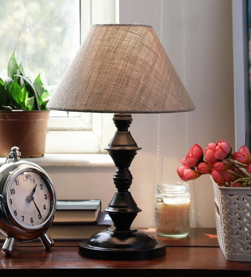 Natural Jute & Siffner Table Lamp by New Era