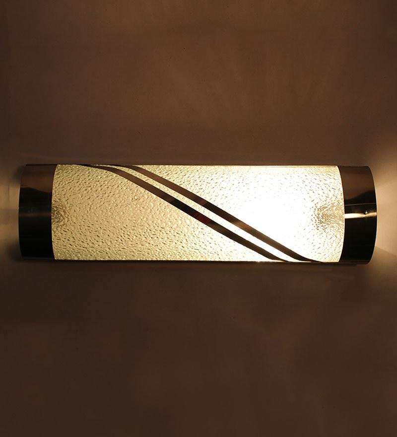 Single Shade Bathroom Light by New Era