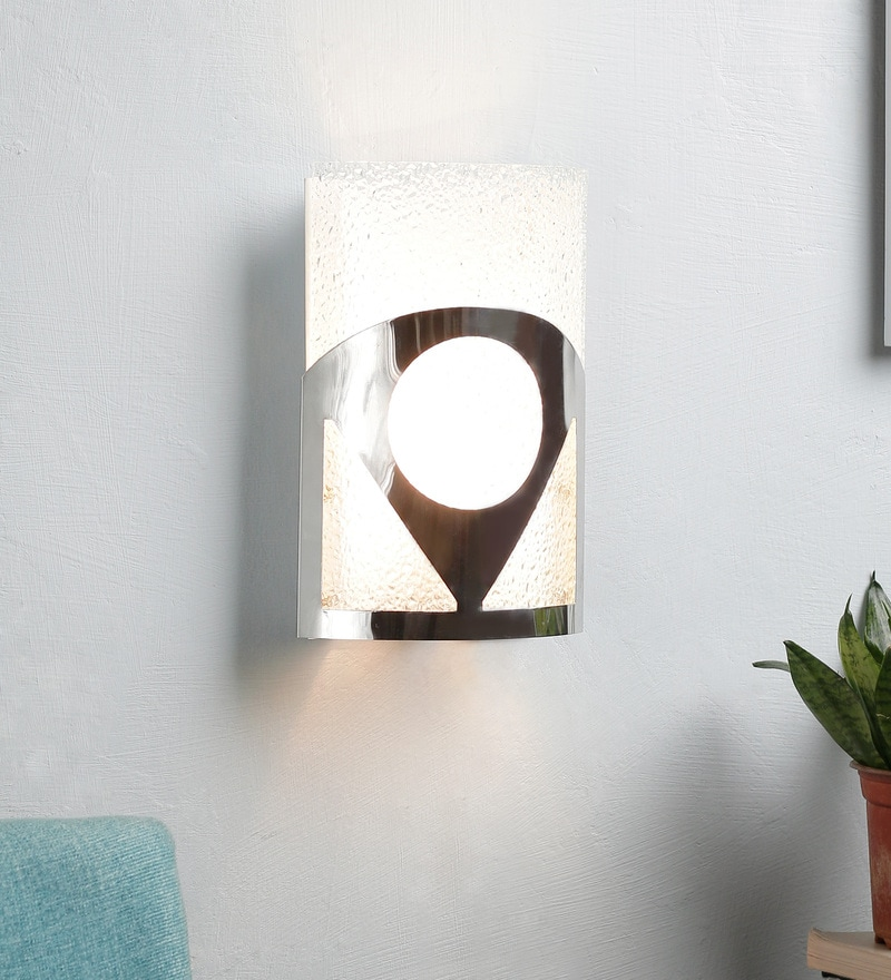 White and Silver Steel Wall Mounted by New Era