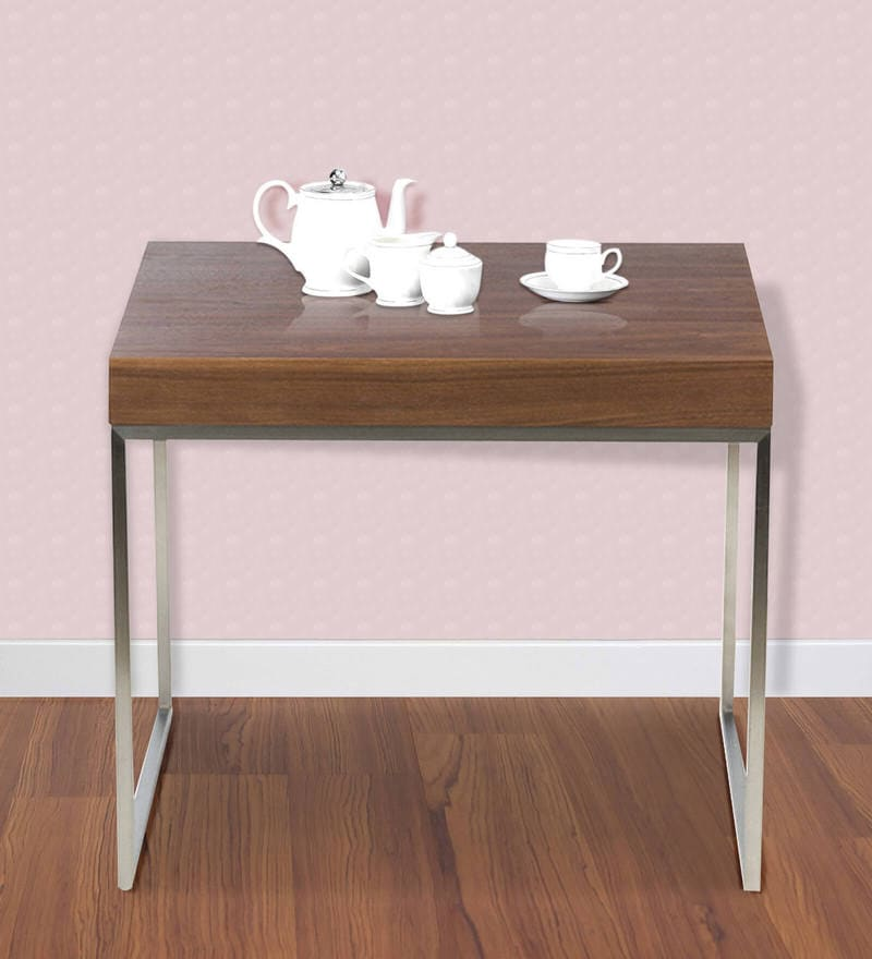 New York End Table in Brown Colour by HomeHQ