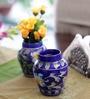 Pottery Multicolour Ceramic Vase by Neerja