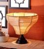 New Era Brown Bamboo Table Lamp