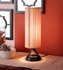 Cylindrical Bamboo Table Lamp by New Era