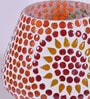 Multicolour Glass Table Lamp by New Era