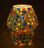 New Era Multicolour Glass Table Lamp