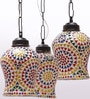 Multicolour Triple Hanging Light by New Era