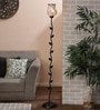Multicolour Glass Floor Lamp by New Era