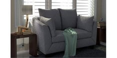 Canberra Charm Two Seater Sofa in Silver Grey Colour