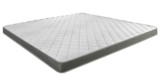 Nimbus R+ King Bed Rebonded Foam with Memory Quilting Mattress 78x72x4 Inch