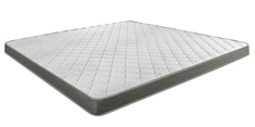 Nimbus R+ Queen Bed Rebonded Foam Mattress with Memory Quilting 78x60x4 Inch