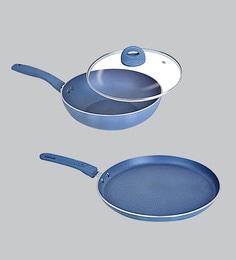 Nirlon Blue Aluminium Cookware Combo Gift - Set Of 2