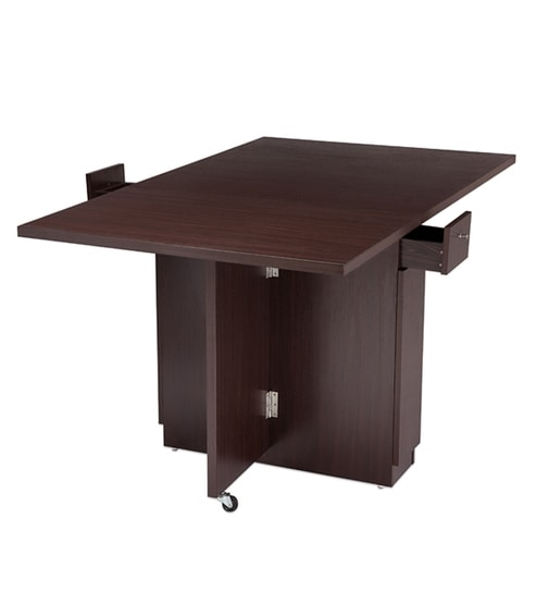 Buy nilkamal hector folding dining table multipurpose for Multipurpose furniture for sale