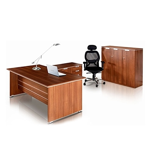 Nilkamal Nortis Feet Office Table Set By Nilkamal Online - 6 foot office table