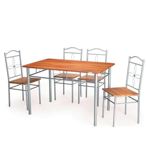 Nilkamal Ritz Dining Table Set Table Chair By Nilkamal Online - Coffee table with 4 chairs