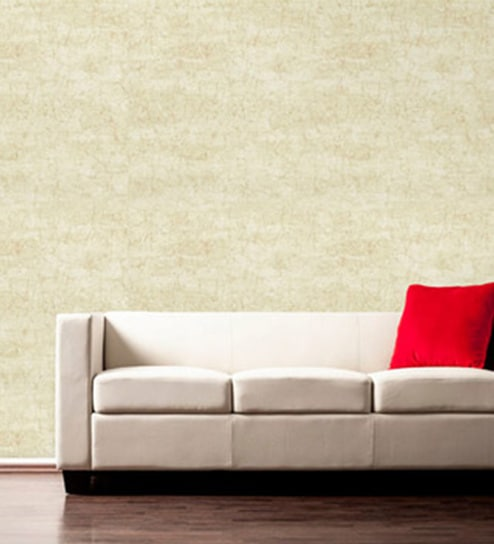 Green Off White Textured Non Woven Paper Zanzibar Export Wallpaper By Nilaya Asian