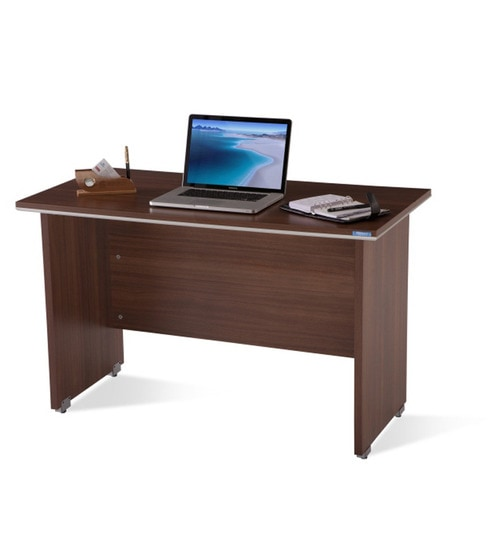Nilkamal Nortis Feet Office Table By Nilkamal Online - 4 feet office table