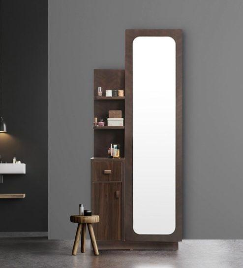 Buy Nina Dresser Unit With Storage Behind Mirror By Durian