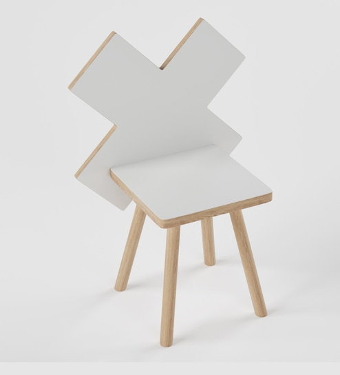 Miraculous Ninja Style Chair In Frosty White By Boingg Gmtry Best Dining Table And Chair Ideas Images Gmtryco