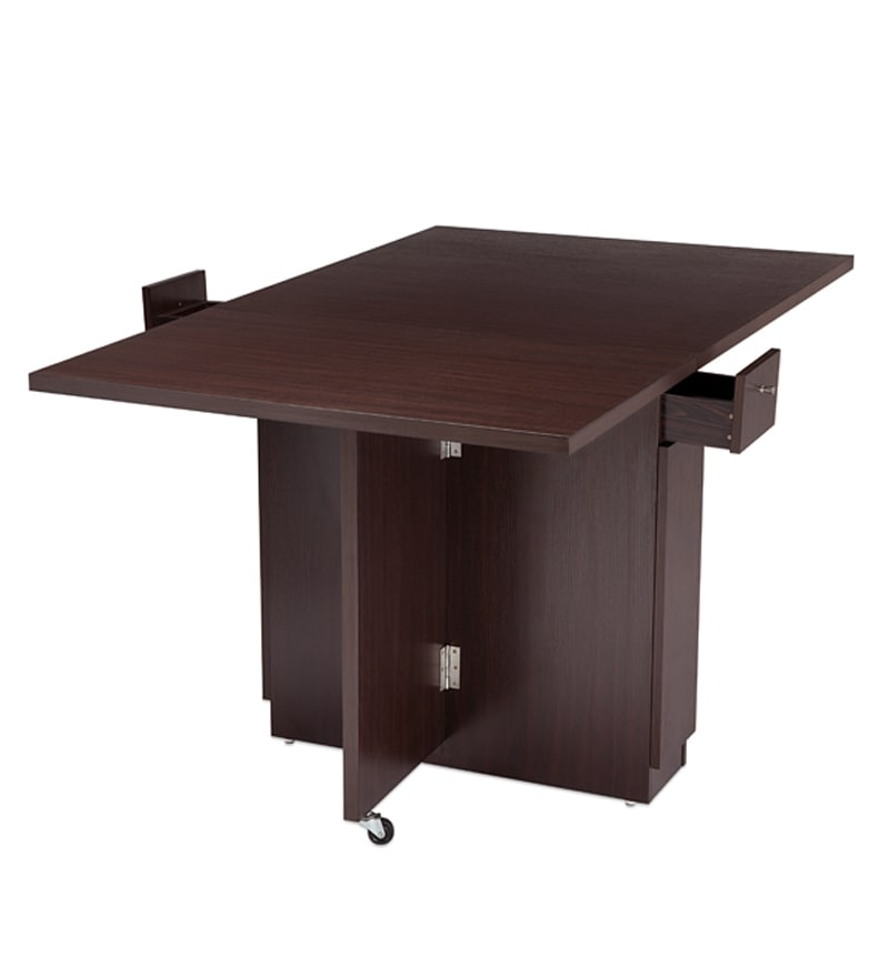 Buy Nilkamal Hector Folding Dining Table Multipurpose Table Online Six Seater Dining Tables