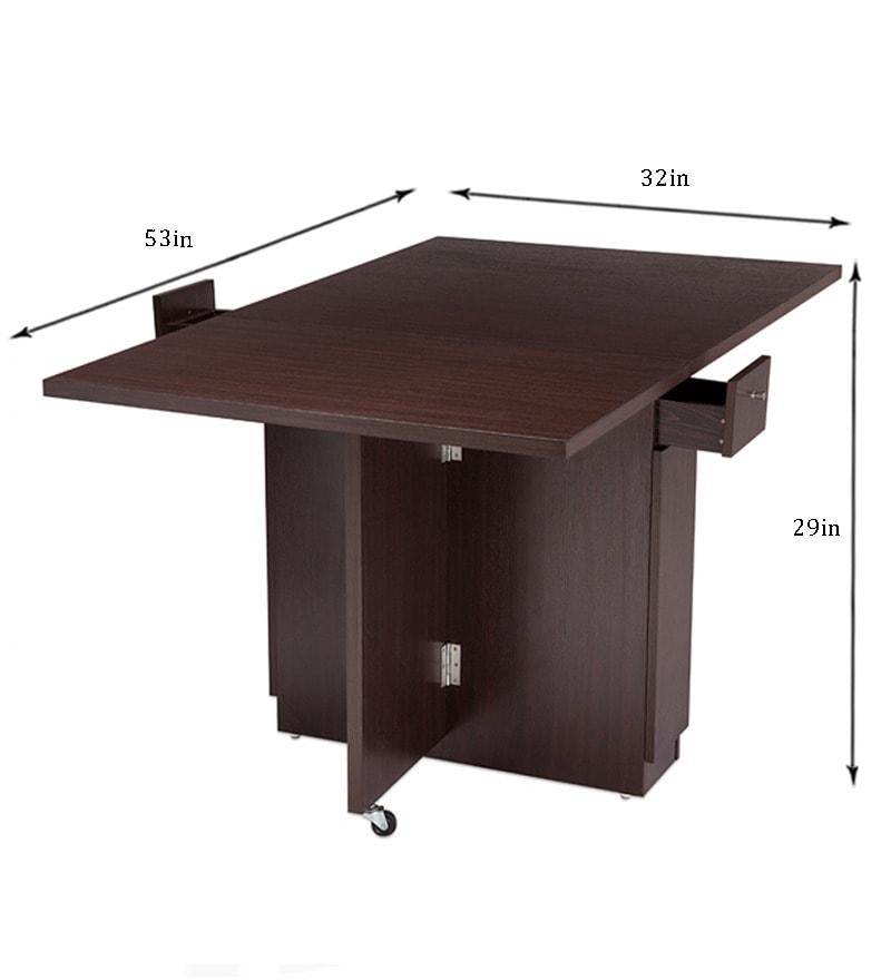 Buy Nilkamal Hector Folding Dining Table Multipurpose  : nilkamal hector folding dining table multipurpose table nilkamal hector folding dining table mult zmxjs8 from www.pepperfry.com size 800 x 880 jpeg 26kB