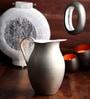Ni Decor Silver Metal Jug Style Vase