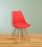 Nordic Chair in Red Colour