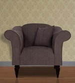 Nottingham Heaven One Seater Sofa in Slate Colour