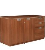 Nova Filling Cabinet in Walnut Regato Colour