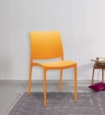 Novella Chair in Orange Colour