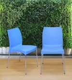 Novella Series - 7 (Set of 2) Chairs in Blue Colour