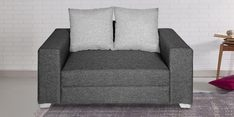 Nobel II Two Seater sofa in Grey Colour