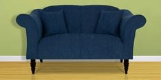 Nottingham Heaven Two Seater Sofa in Navy Blue Colour