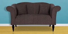 Nottingham Heaven Two Seater Sofa in Slate Colour