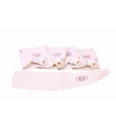 Noor Off White Cake Decoration Cotton Icing Bag - Set Of 5