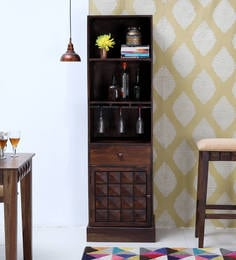 Norman Bar Unit In Provincial Teak Finish