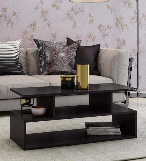 Nord Coffee Table in Wenge Colour By Klaxon