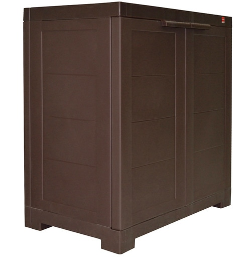 Buy Novelty Compact Storage Cabinet in Pearl Brown colour by Cello ...