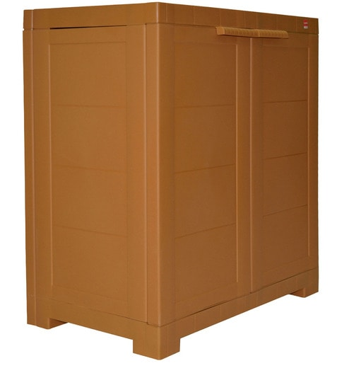 Buy Novelty Compact Storage Cabinet in Wood colour by Cello Online ...