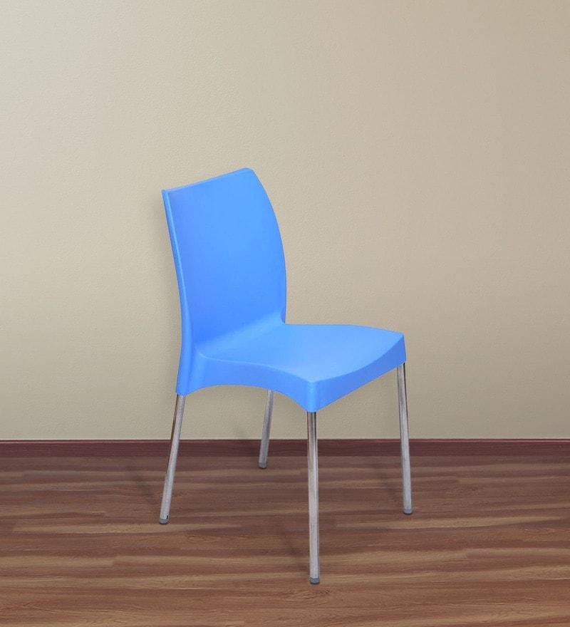 Novella 07 Chair in Blue Colour by Nilkamal