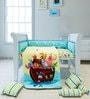 Fancy Fluff Noah's Ark 6-Piece Premium Baby Crib Set