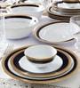 Crestwood Golden Cobalt Porcelain 21-Piece Dinner Set by Noritake