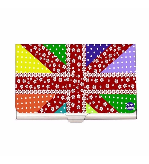 d2e0e58ca4 Buy Multicolour Cute Elements Stainless Steel Visiting Card Holder ...