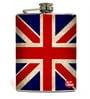 Nutcase 207 ML Vintage Union Jack British Flag Hip Flask